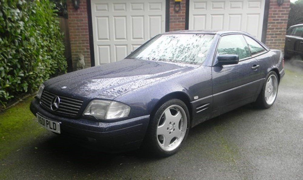 Lot 224 - 2000 12987 500SL Roadster
