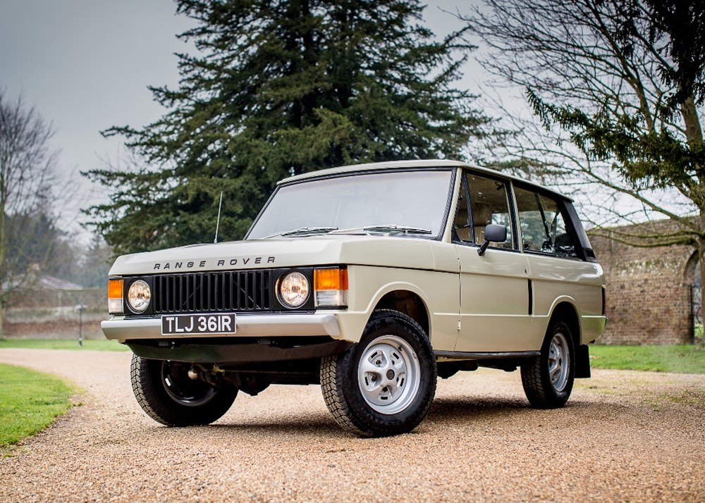 Lot 184 - 1976 Range Rover Suffix D 'Two-door'