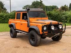 Navigate to Lot 184 - 2009 Land Rover Defender Double Cab Pick-up