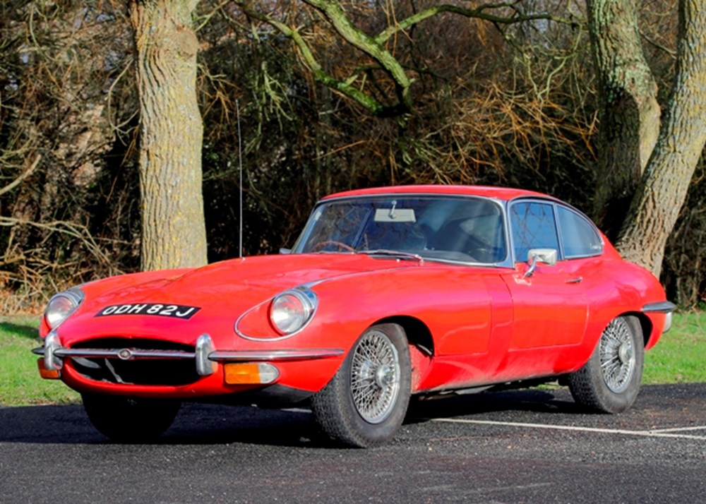 Lot 192 - 1970 Jaguar E-Type Series II Fixedhead Coupé