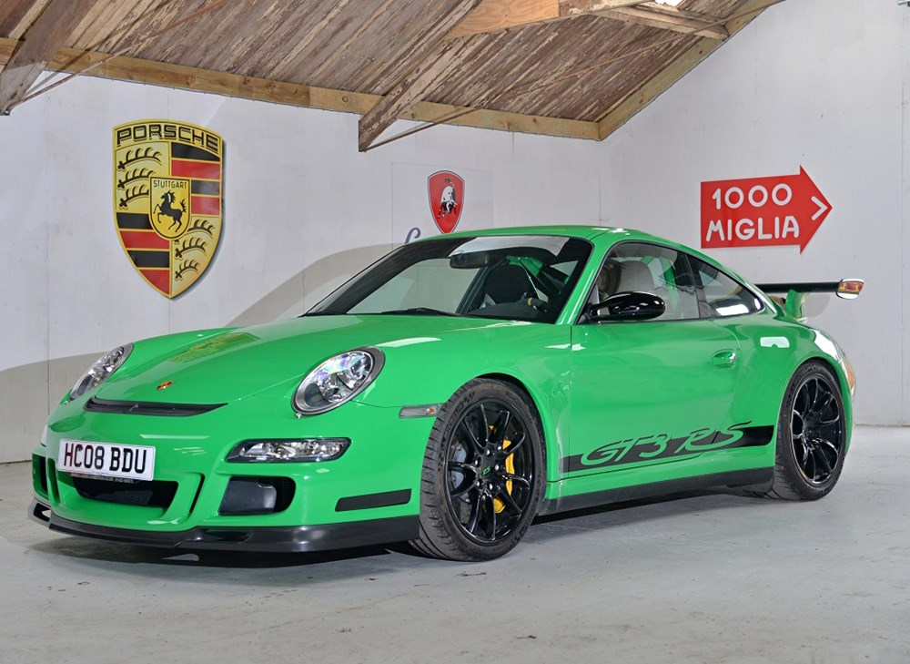 Lot 271 - 2008 Porsche 997 GT3 RS Generation 1