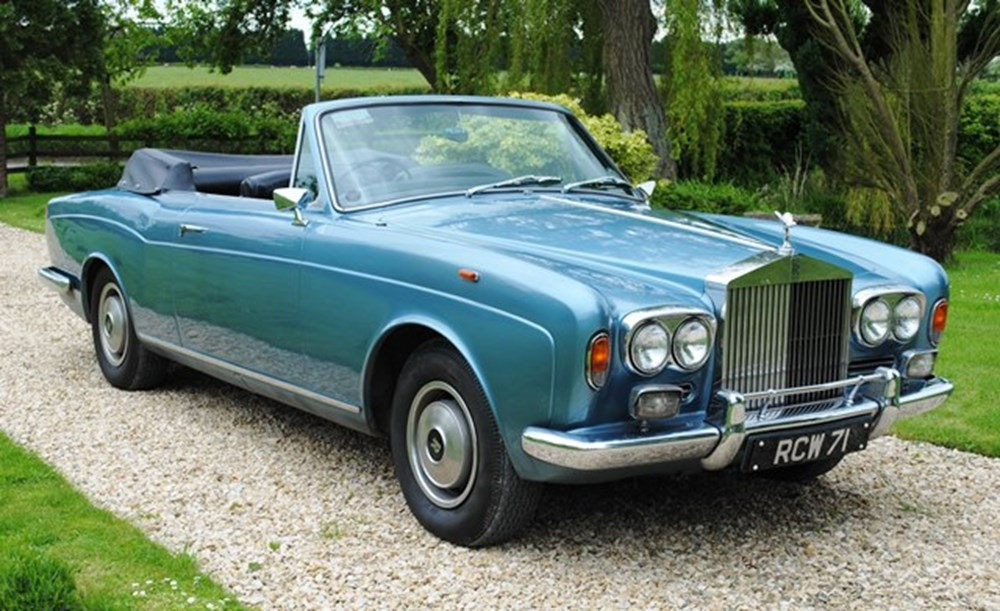 Lot 429 - 1968 Rolls-Royce MPW Convertible
