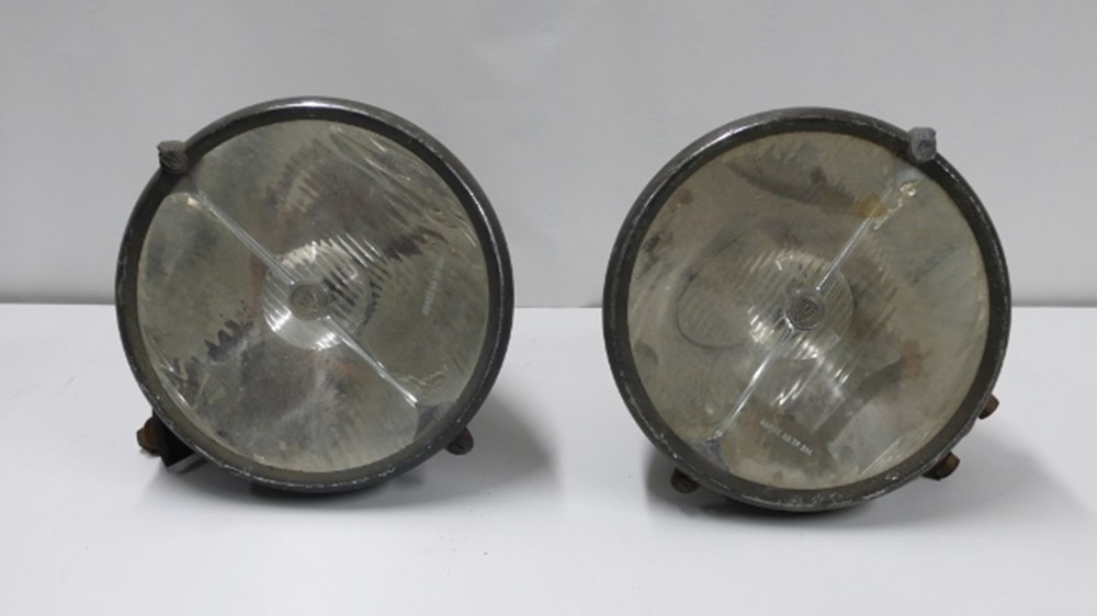 Lot 65 - Marchal head lights.