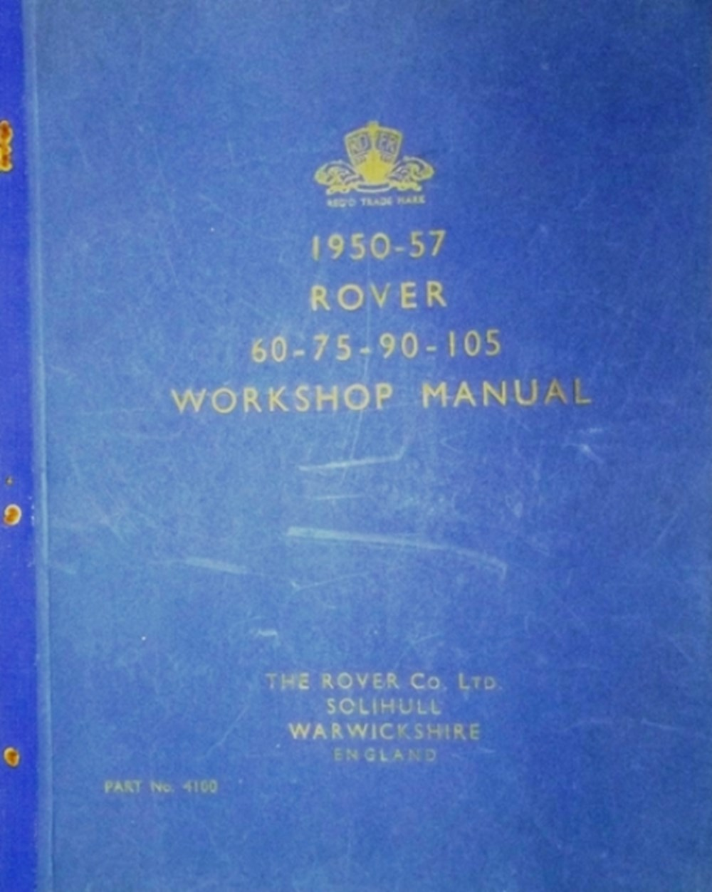 Lot 033 - Three vehicle manuals