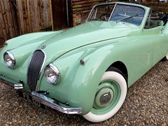 Navigate to Lot 44 - 1954 Jaguar XK120 Drophead Coupé