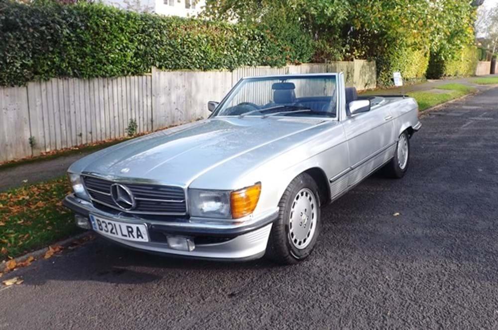1984 mercedes benz 380sl classic sports car auctioneers for Mercedes benz 380sl