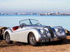 Navigate to Lot 206 - 1954 Jaguar XK120 SE Roadster
