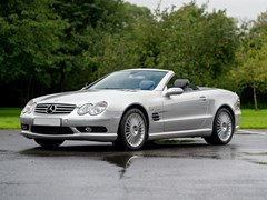 Navigate to Lot 217 - 2003 Mercedes-Benz  SL55 Roadster *WITHDRAWN*