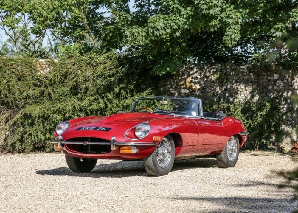 Lot 209 - 1968 Jaguar E-Type Series II Roadster