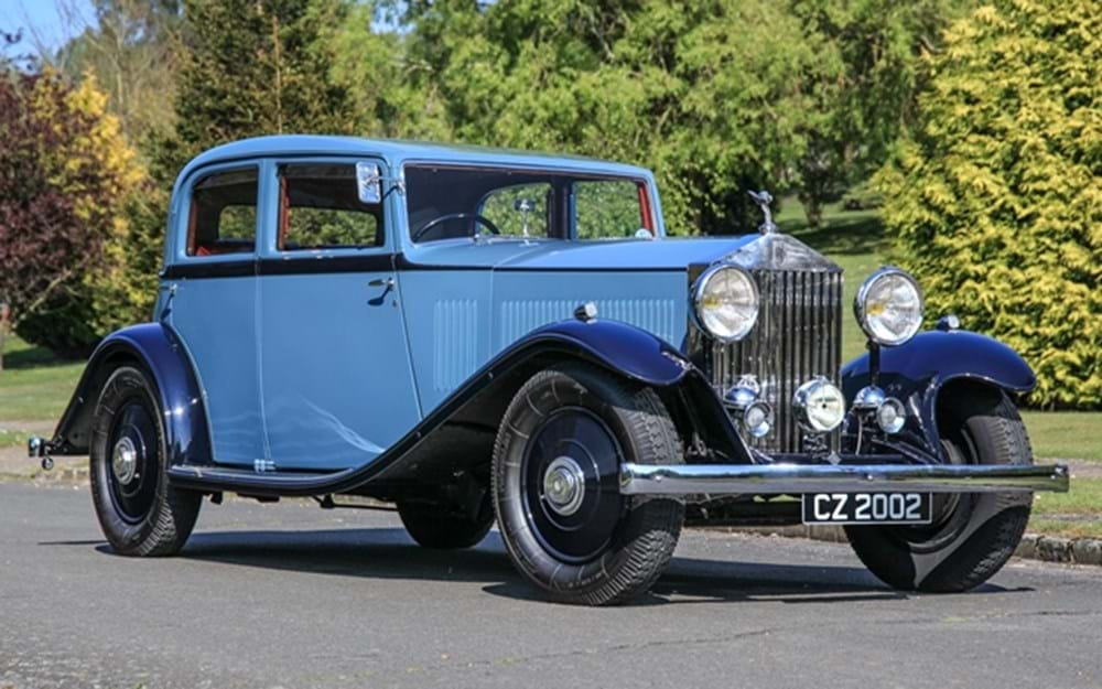 Lot 145 - 1933 Rolls-Royce 20/25 Touring Saloon by Park Ward