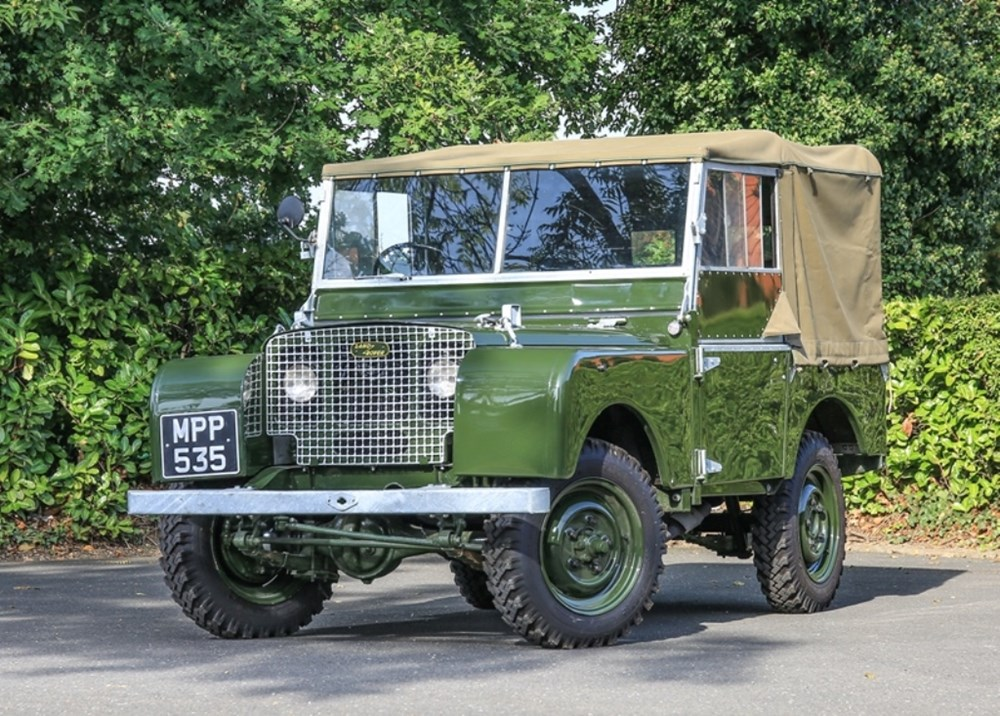 Lot 198 - 1949 Land Rover Series I