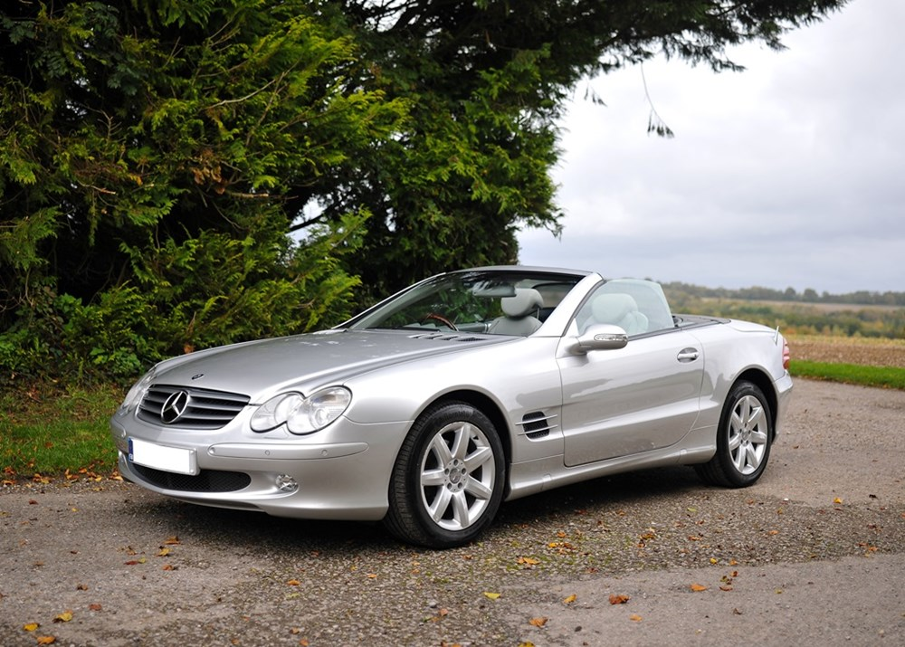 Lot 148 - 2003 Mercedes-Benz SL 350 Roadster