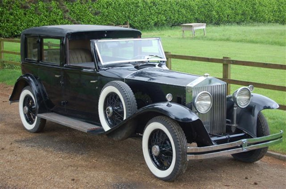 Lot 322 - 1931 Rolls-Royce Phantom II Keswick Town Car by Brewster
