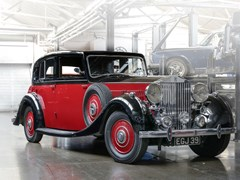 Navigate to Lot 179 - 1937 Rolls-Royce Phantom III Sports Saloon by Barker