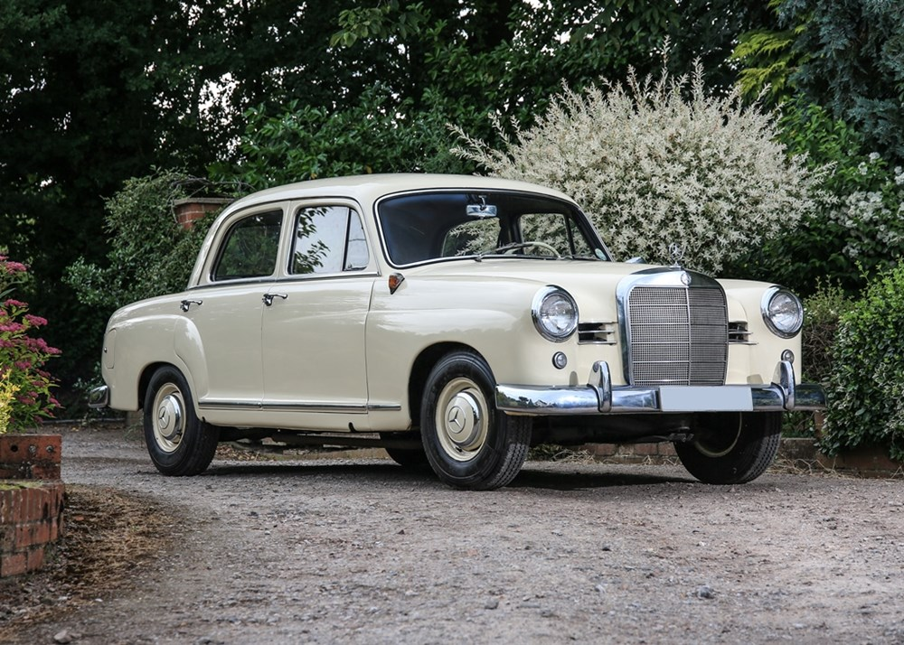 Lot 279 - 1958 Mercedes-Benz 190D Ponton