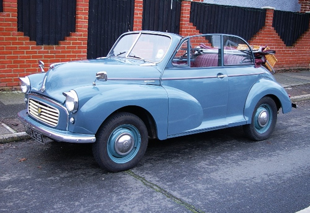 Lot 214 - 1956 Morris Minor Split Screen Convertible
