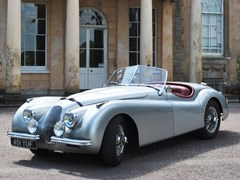 Navigate to Lot 256 - 1954 Jaguar XK120 SE Roadster