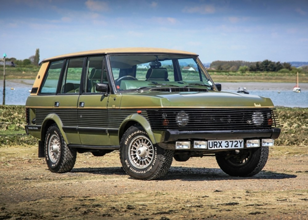 Lot 227 - 1983 Range Rover by Wood and Pickett 'The Harrods Edition'