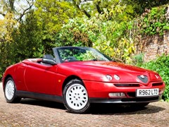 Navigate to Lot 103 - 1998 Alfa Romeo Spider Series II