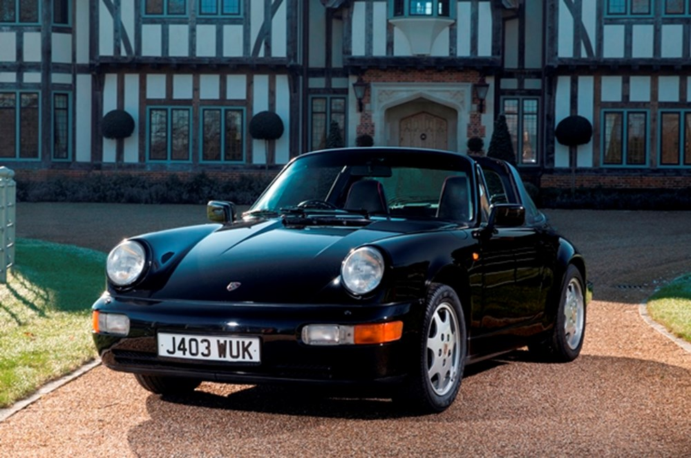 Lot 175 - 1991 Porsche 911/964 Carrera 2 Targa