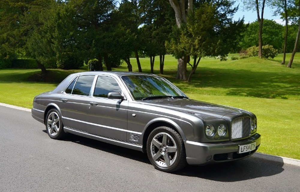 Ref 175 Bentley Arnage T Classic Sports Car Auctioneers
