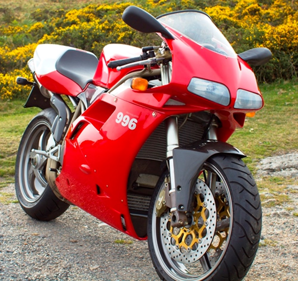 Lot 340 - 1999 Ducati 996 SPS 'Pre-Production'