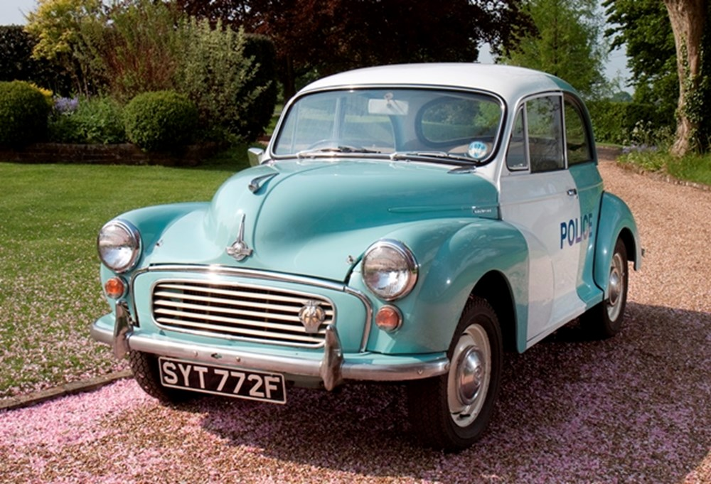 Lot 234 - 1968 Morris Minor Ex Scotland Yard Panda Police Car