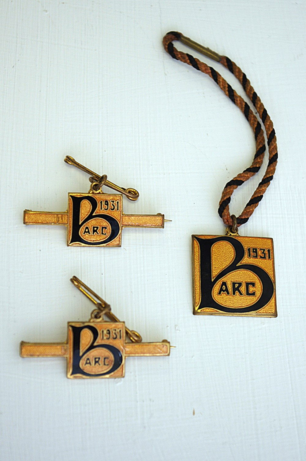 Lot 099 - BARC member's badges