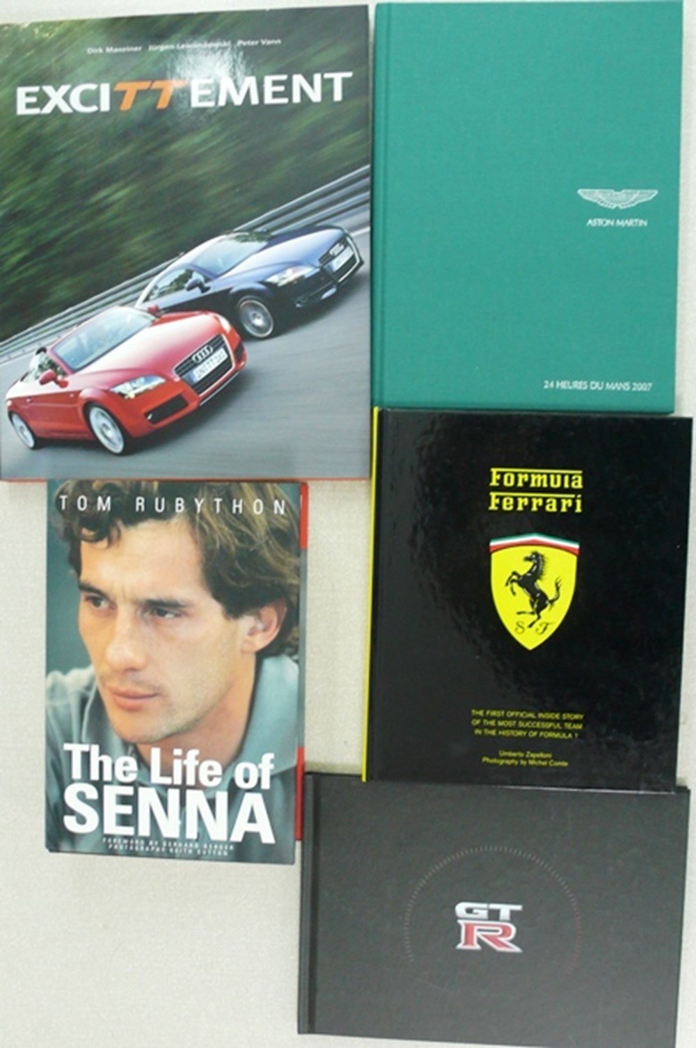 Lot 128 - Motoring and motorsport books