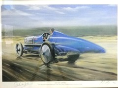 Navigate to Limited edition land speed record prints.