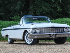 Navigate to Lot 249 - 1962 Ford Galaxie 500 Sunliner Convertible