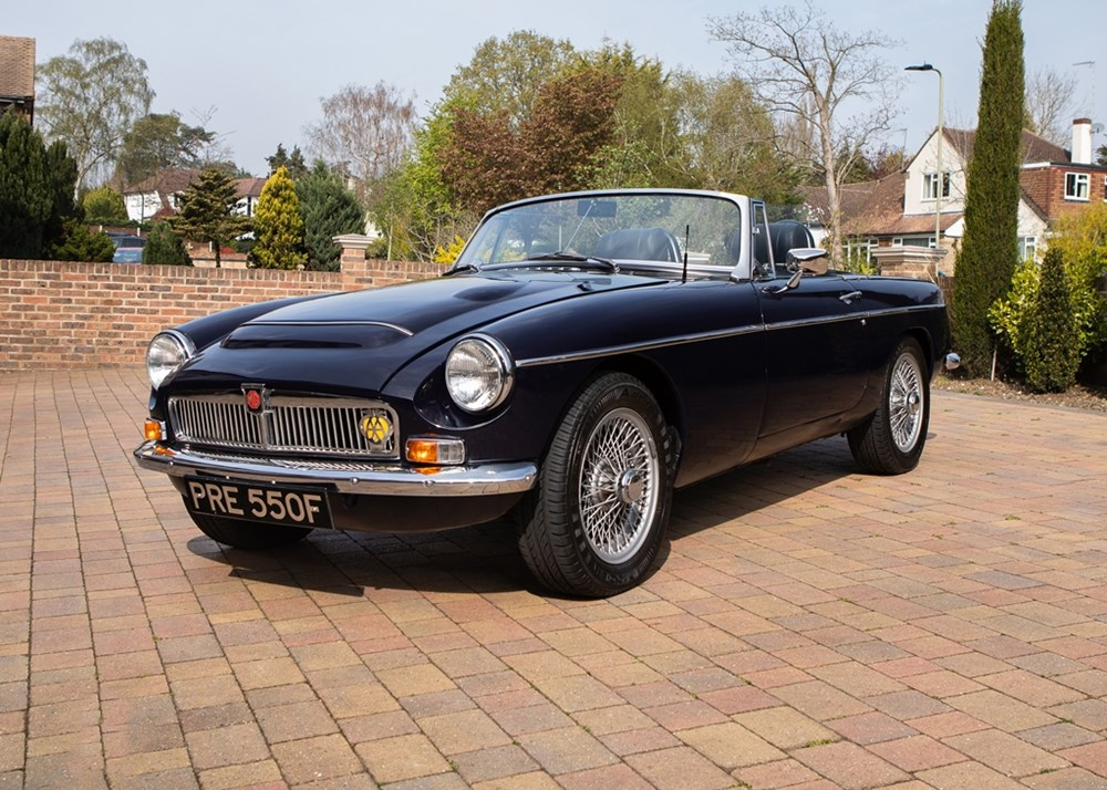 Lot 224 - 1968 MG C Roadster