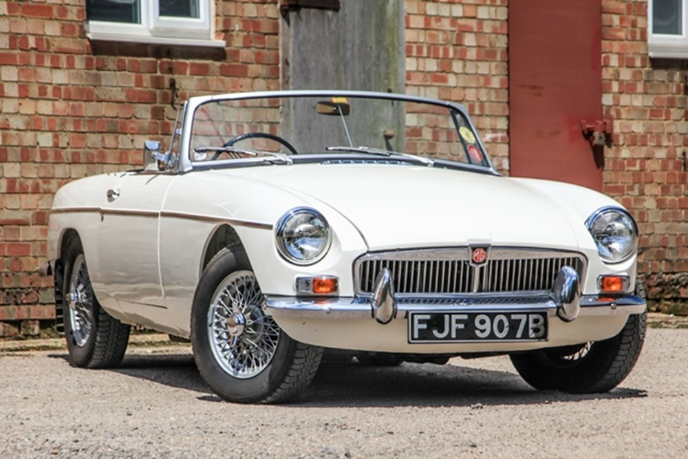 Lot 313 - 1963 MG B Roadster