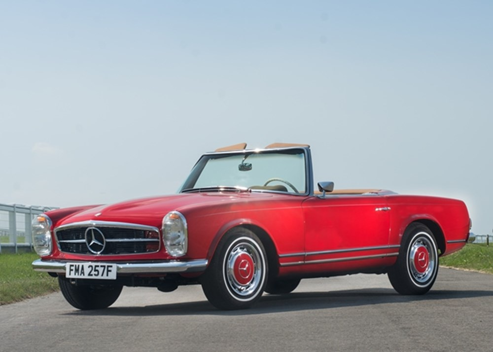 Lot 193 - 1968 Mercedes-Benz 280 SL Roadster