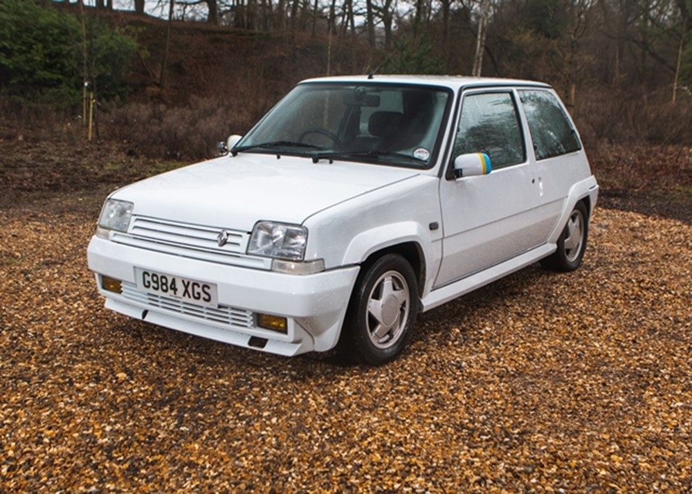 Lot 268 - 1990 Renault 5 Turbo