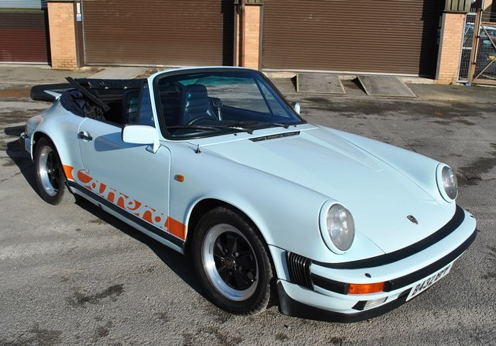 Lot 250 - 1984 Porsche 911 Carrera Convertible