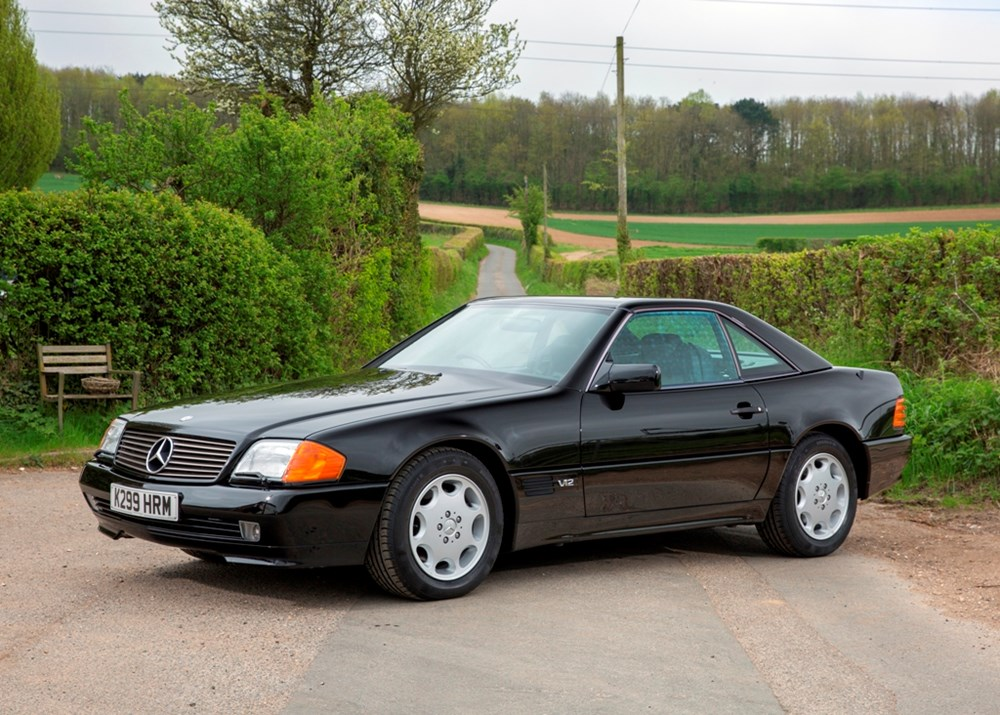 Lot 203 - 1993 Mercedes-Benz SL600 Roadster ex Sultan of Brunei