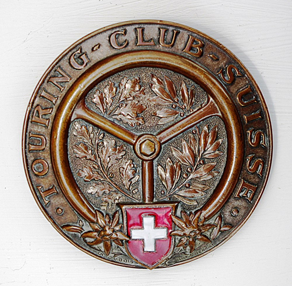 Lot 102 - Two Motoring badges,