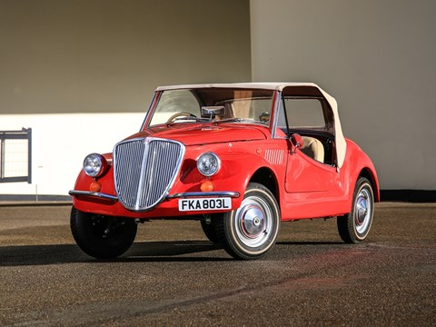 Ref 57 1972 Fiat 500 Gamine by Vignale