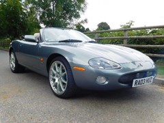 Navigate to Lot 212 - 2003 Jaguar XKR Convertible
