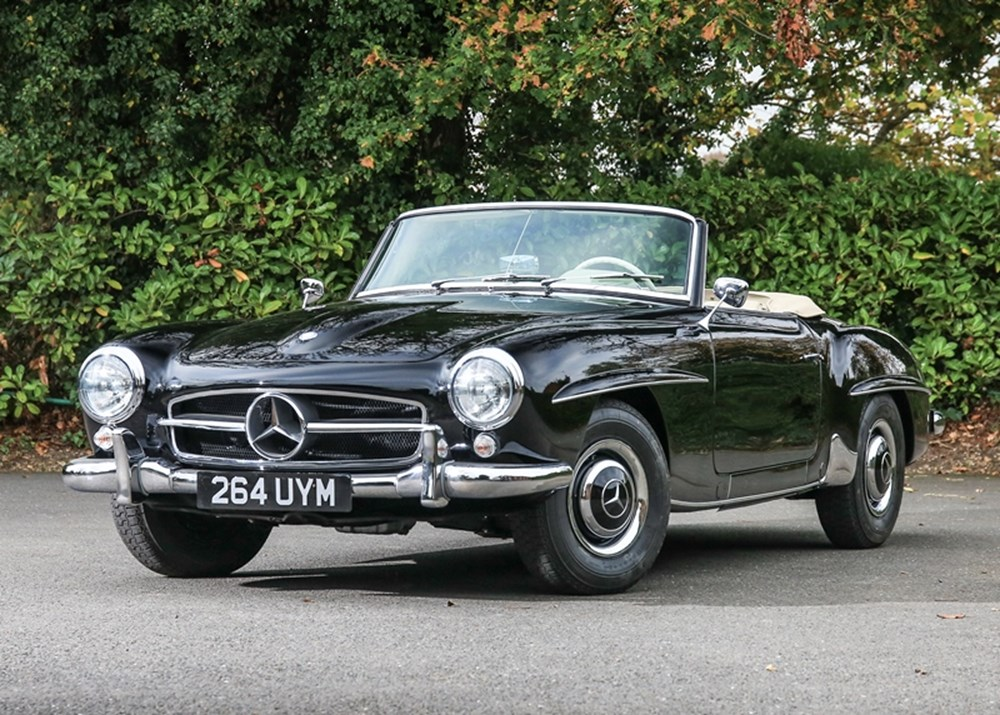 Lot 307 - 1956 Mercedes-Benz 190 SL