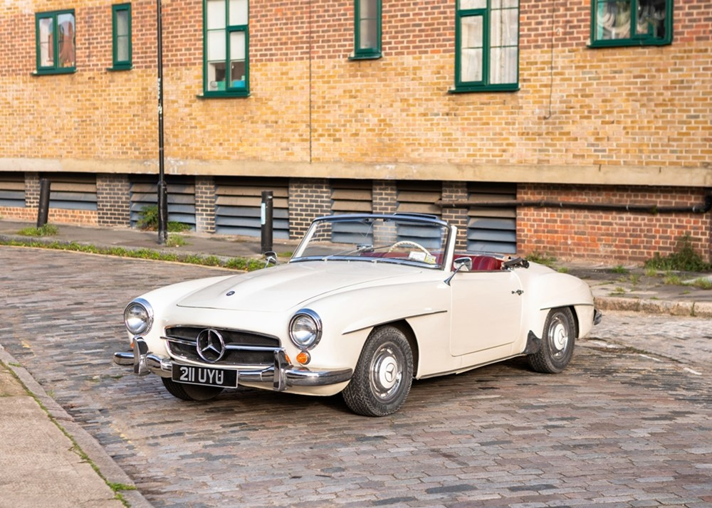 Lot 299 - 1958 Mercedes-Benz 190 SL *WITHDRAWN*