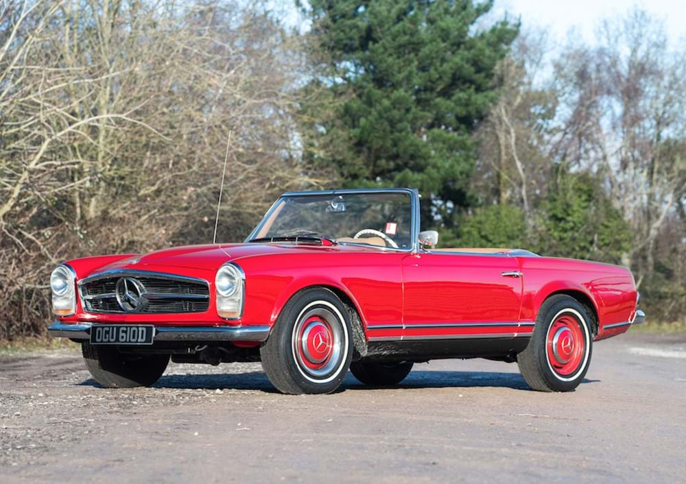 Lot 197 - 1966 Mercedes-Benz 230 SL Pagoda