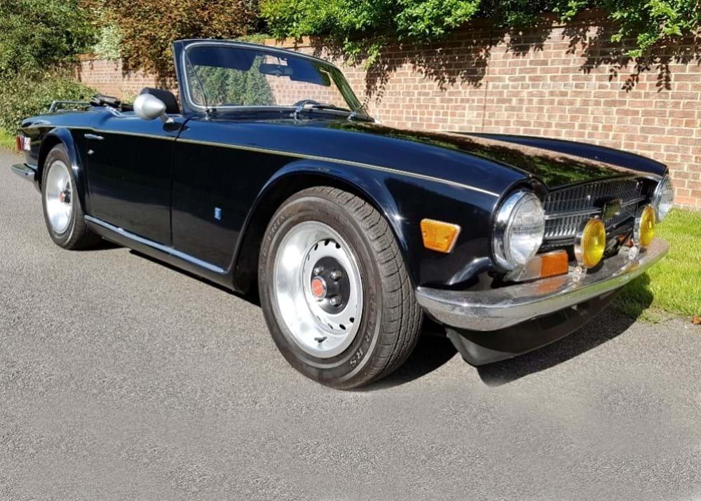 Ref 159 1971 Triumph TR6 - Classic & Sports Car Auctioneers