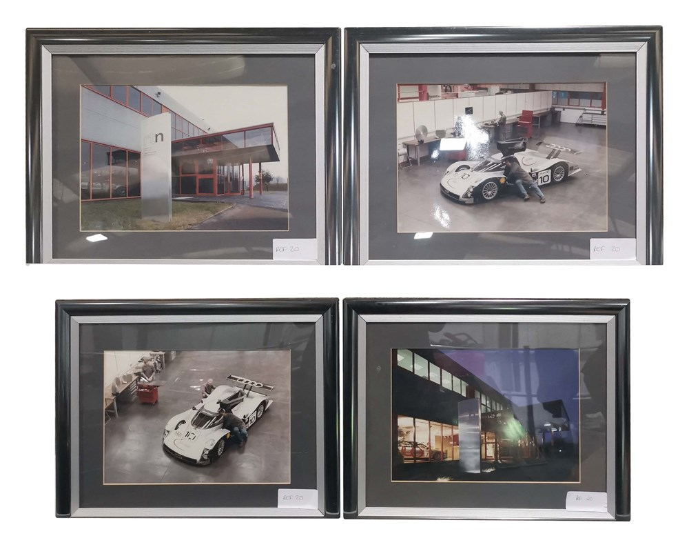 Lot 66 - A selection of ten assorted Audi factory...