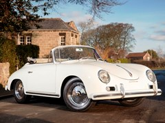 Navigate to Lot 263 - 1957 Porsche 356A Cabriolet