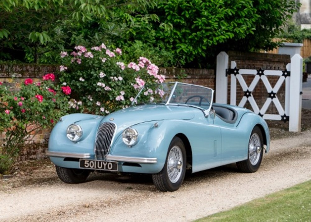 Lot 267 - 1954 Jaguar XK120 Roadster