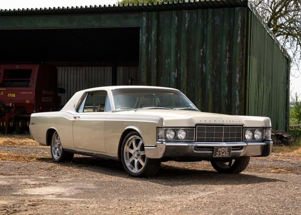 Lot 174 - 1969 Lincoln Continental 'Kennedy' Coupé (Fourth Generation)