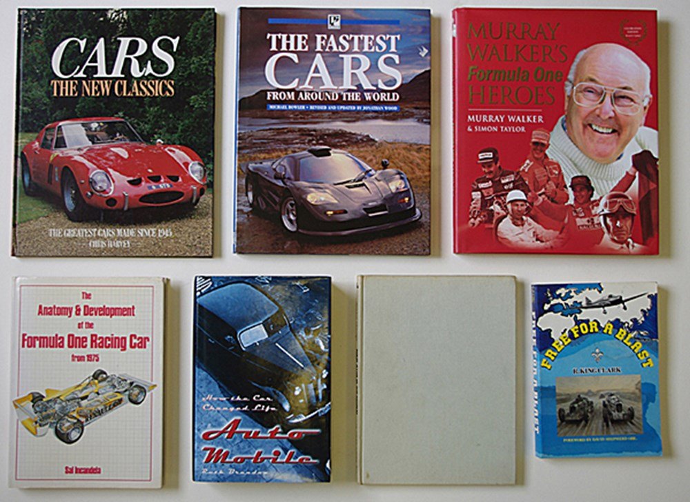 Lot 031 - Motoring books