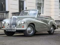 Navigate to Lot 159 - 1955 Daimler Conquest Drophead Coupé